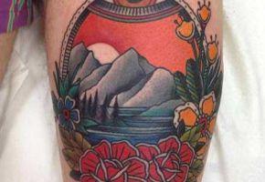 Gecko Tattoo - Bruchsal
