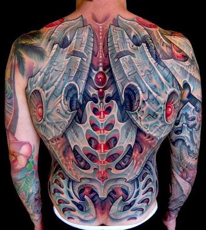 Welten Der Tatowierten Biomechanik Tattoo Spirit