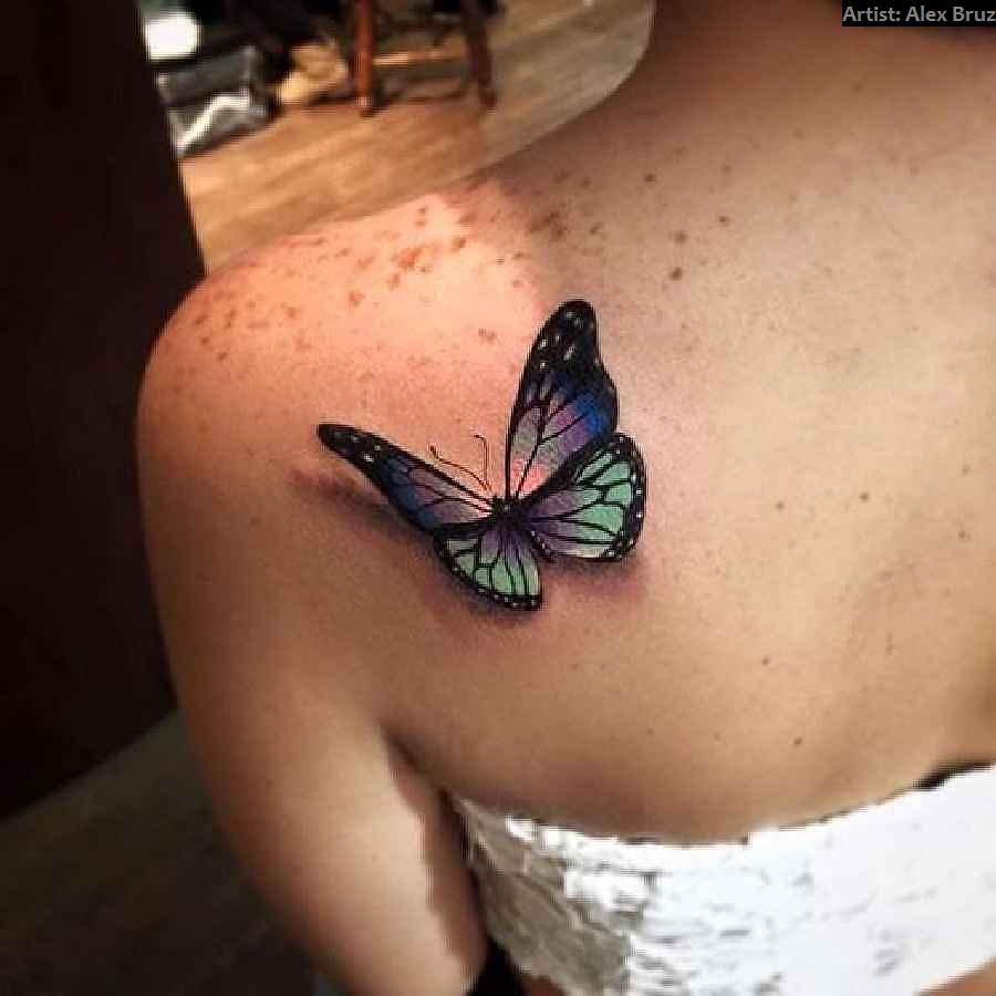 Schmetterling Tattoo Spirit