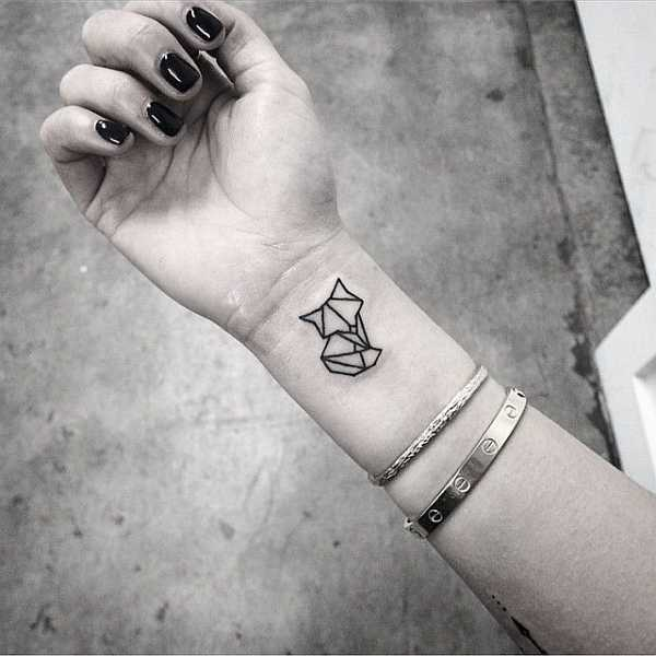23 Cards In Collection Geometric Black And White Tattoo Of User