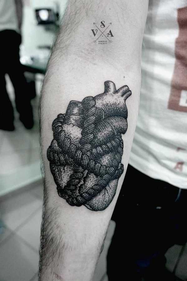 Herz-Motive für Männer und Frauen – Tattoo Spirit