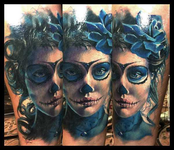 15 geniale La Catrina Tattoos – Tattoo Spirit