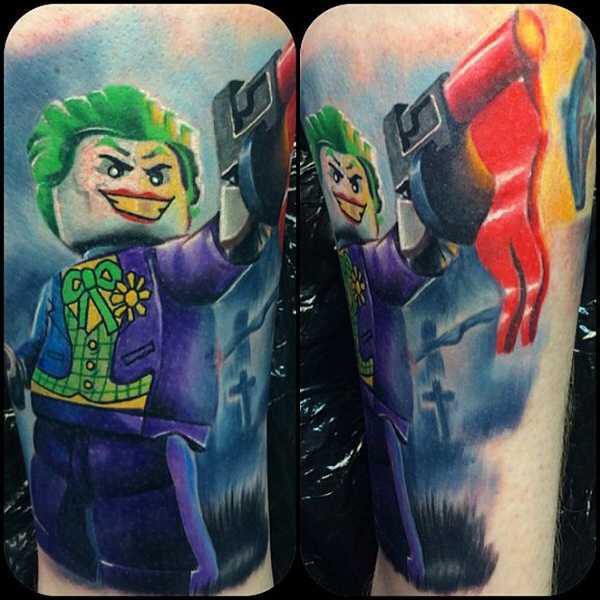 Die welt der lustigen lego tattoos tattoo spirit for Blackwater tattoo studio