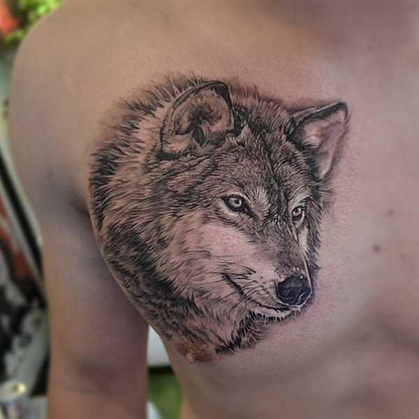 wer hat angst vor dem tattoo wolf tattoo spirit. Black Bedroom Furniture Sets. Home Design Ideas