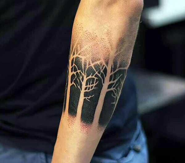 22 ungew hnliche negativ tattoos tattoo spirit. Black Bedroom Furniture Sets. Home Design Ideas