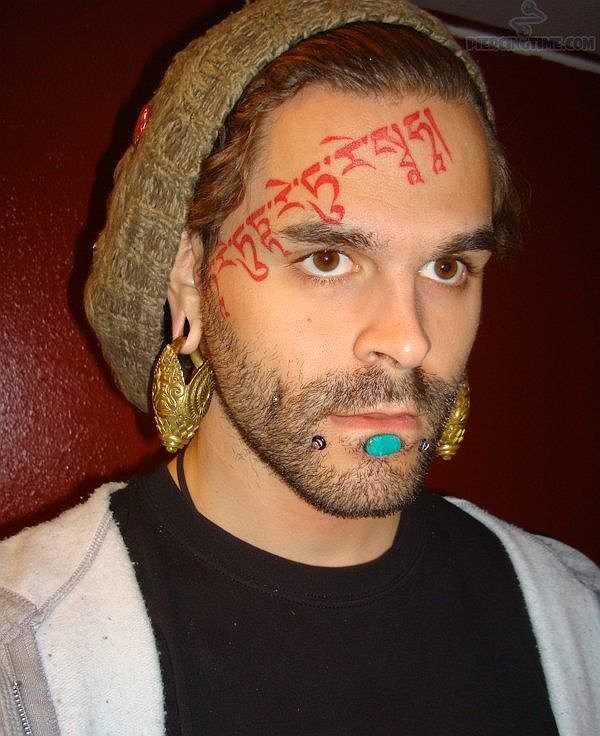Tattoos Im Gesicht