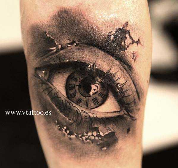 Das Kann Ins Auge Gehen Tattoo Spirit