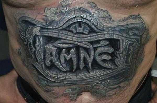 Die Stein Tattoos Des Pavel Angel Tattoo Spirit