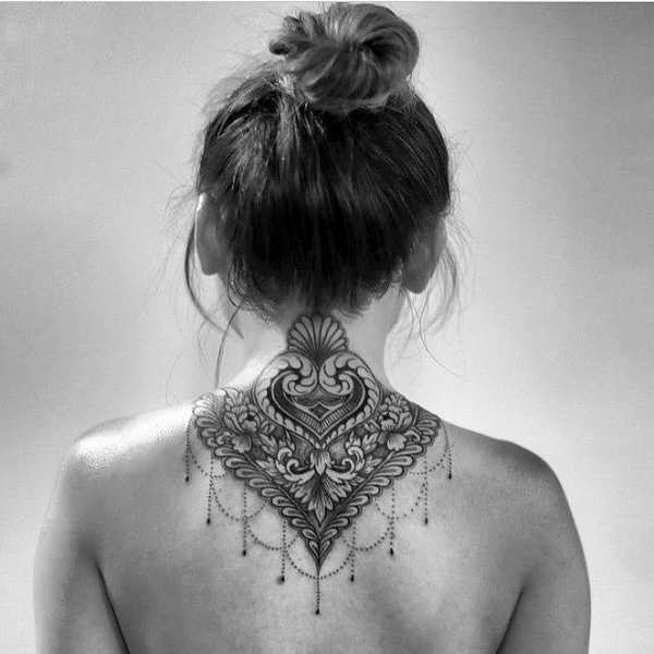 20 Wundervolle Nacken Tattoos Tattoo Spirit