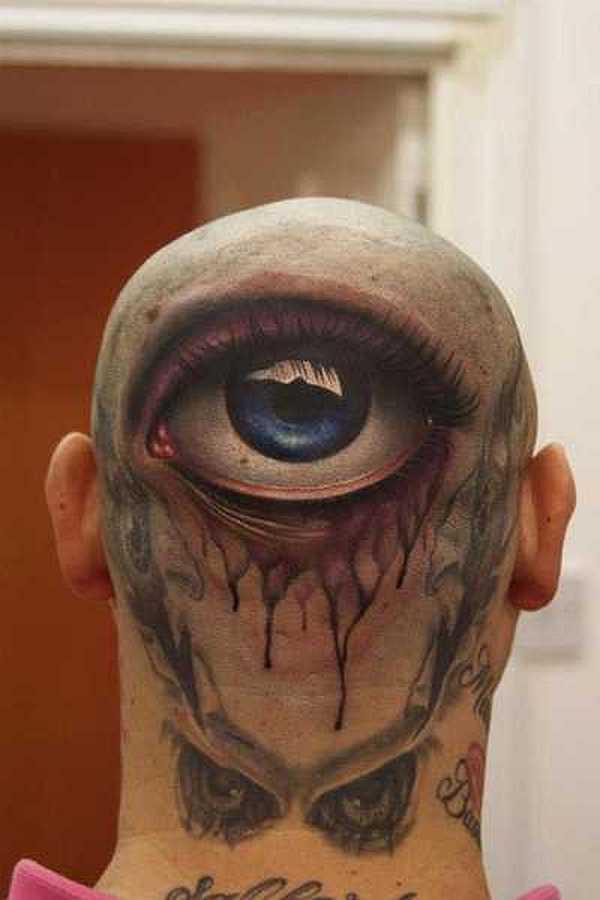 teufel tattoo comic style