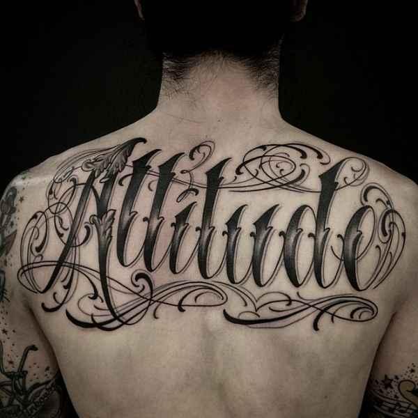 Abgefahrene Lettering Tattoos Tattoo Spirit