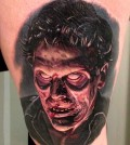 Tattoo, Zombie, Horror, Realistic