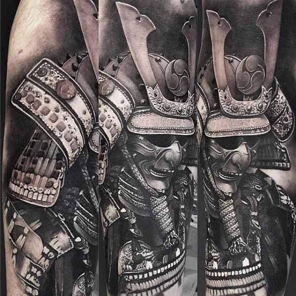 Beeindruckende Samurai Tattoos Tattoo Spirit