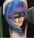 Tattoo, Actor, Movie, Realistic