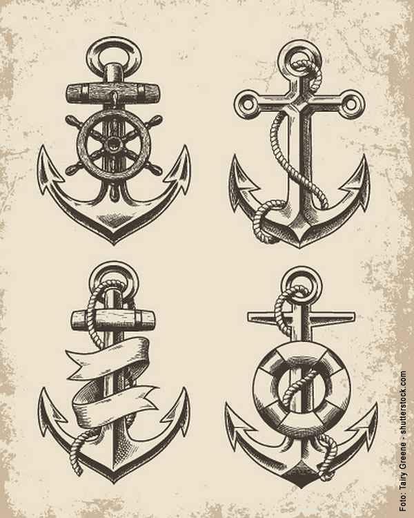 12 Anker Motive Mit Zitaten Tattoo Spirit
