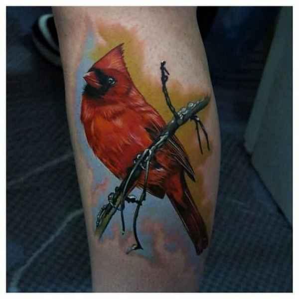 22 besondere vogel tattoos tattoo spirit. Black Bedroom Furniture Sets. Home Design Ideas
