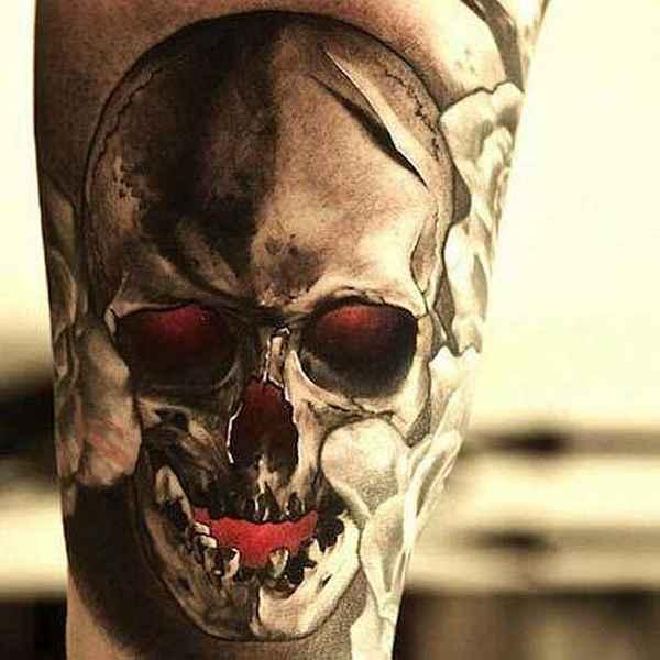 Skulls Beeindruckende Totenschädel Part01 Tattoo Spirit