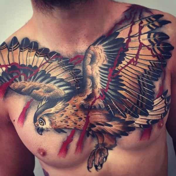 besondere vogel tattoos tattoo spirit. Black Bedroom Furniture Sets. Home Design Ideas