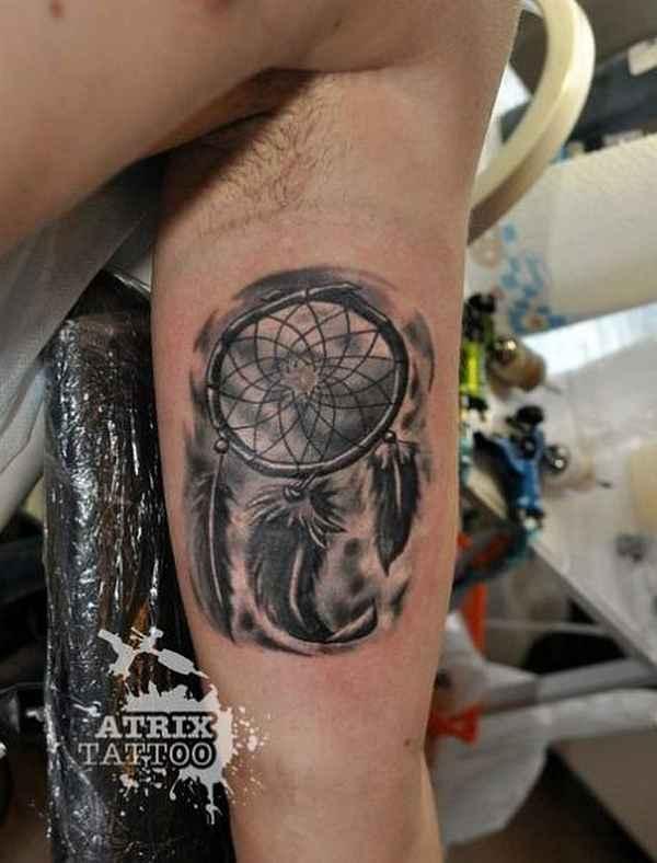Traumfà Nger Tattoo: Dreamcatcher Tattoos