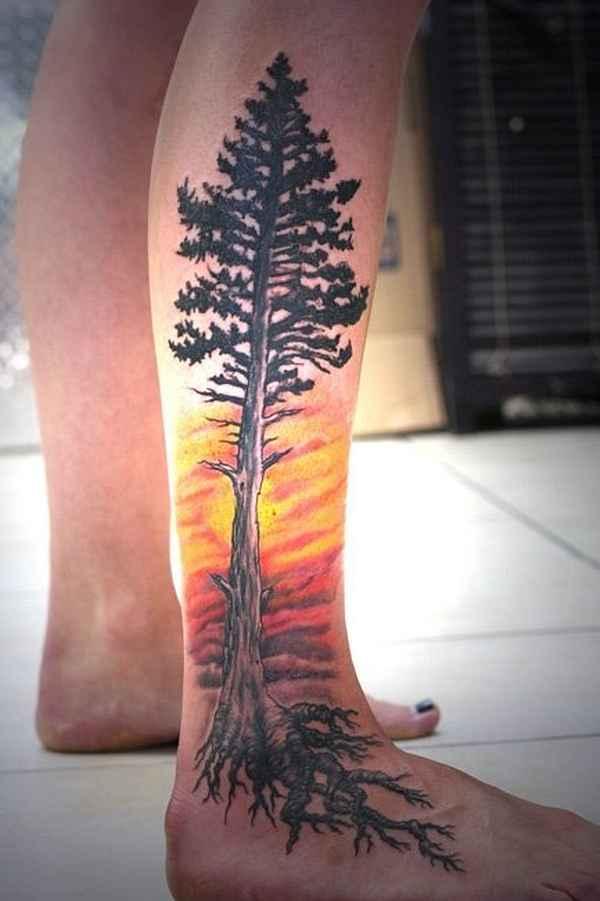 Baum-Tattoos... Planet Fitness Sunrise