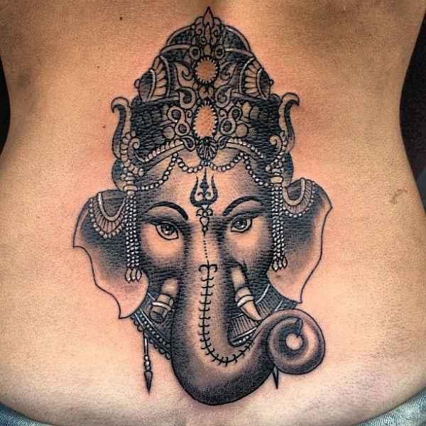 Elephant Mandala Tattoo Tattoos T Tatuajes Elefantes Y: Göttliche Ganesha-Tattoos