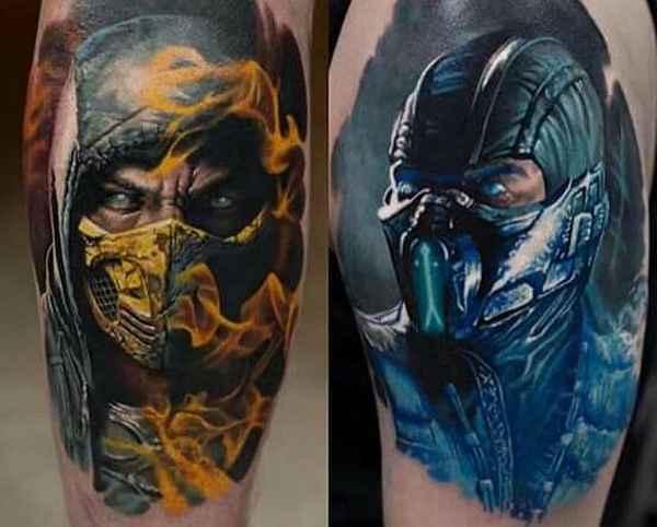 Liu Kang Tattoo: Mortal Kombat Tattoos
