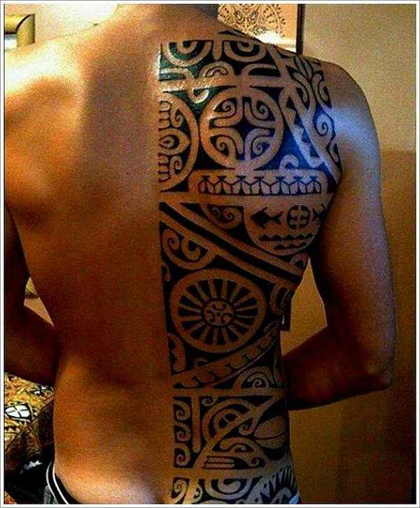 polynesische tattoos part 01 tattoo spirit. Black Bedroom Furniture Sets. Home Design Ideas