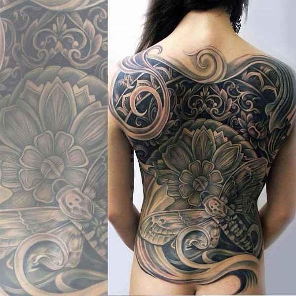 black grey monster tattoos part 02 tattoo spirit. Black Bedroom Furniture Sets. Home Design Ideas