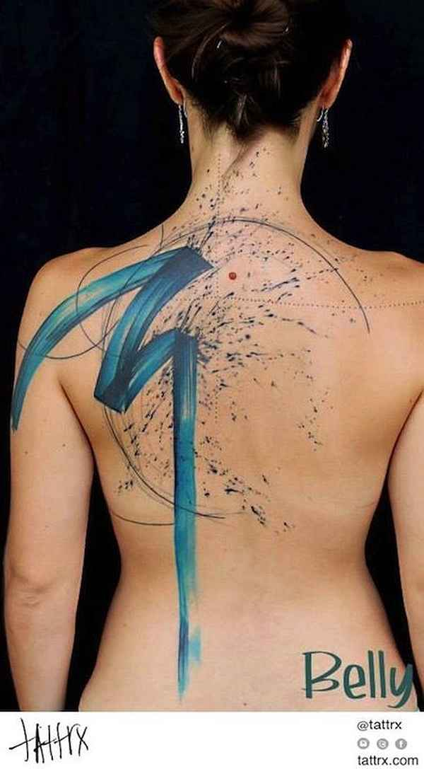 brush-stroke-tattoo-020-Belly Button