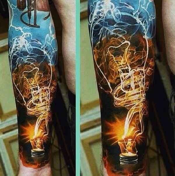 014-Dmitriy Samohin-light-bulb-tattoo