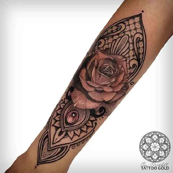 geometrie tattoos mit coen mitchell tattoo spirit. Black Bedroom Furniture Sets. Home Design Ideas