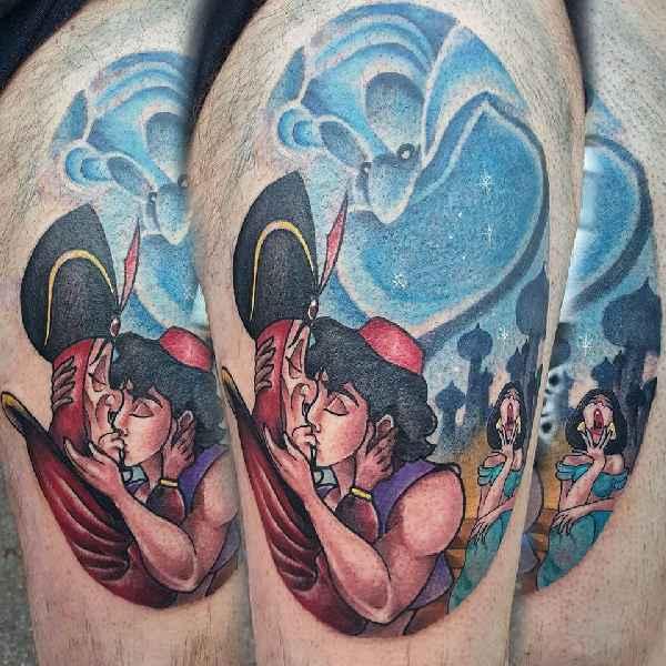 michela bottin s witzig freche comic tattoos tattoo spirit. Black Bedroom Furniture Sets. Home Design Ideas