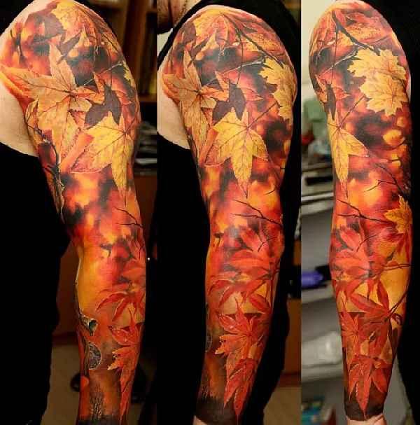 Nature-Sleeves-Tattoos-Dmitriy Samohin 002
