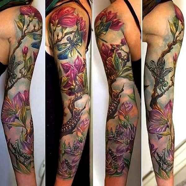 Nature-Sleeves-Tattoos-Rom Azovsky