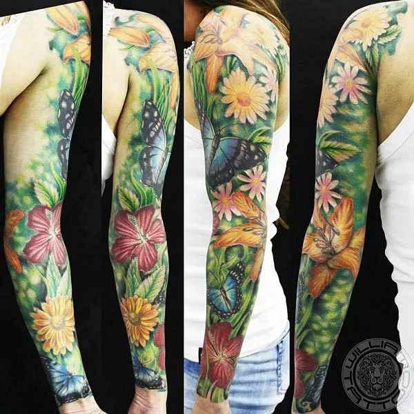Nature-Sleeves-Tattoos-William Tattoo