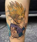 001-Dragonball-Gohan-Tattoo-Will Walker