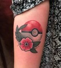 01-pokeball-tattoo-Brent Megens