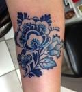 Blue Tattoo 002