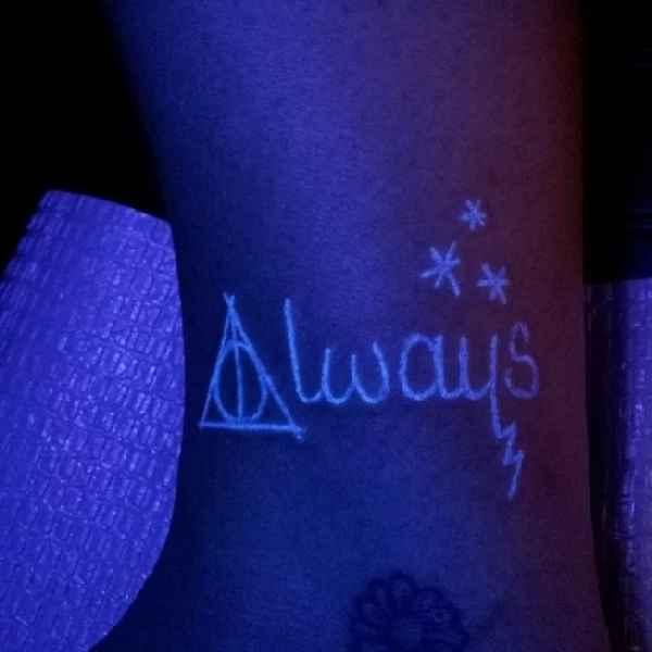 harry potter blacklight tattoos tattoo spirit. Black Bedroom Furniture Sets. Home Design Ideas