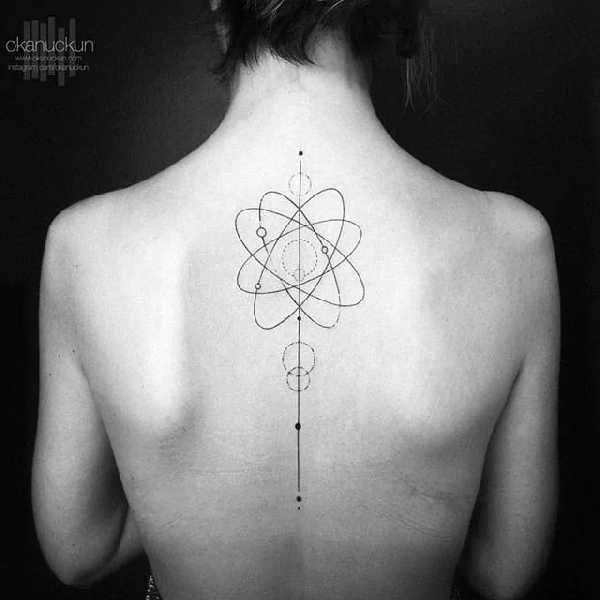 Elegante Wirbelsaulen Tattoos Tattoo Spirit