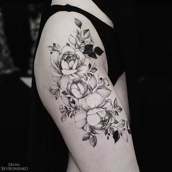 Diana-Severinenko-Tattoo-Flower-Blumen-003