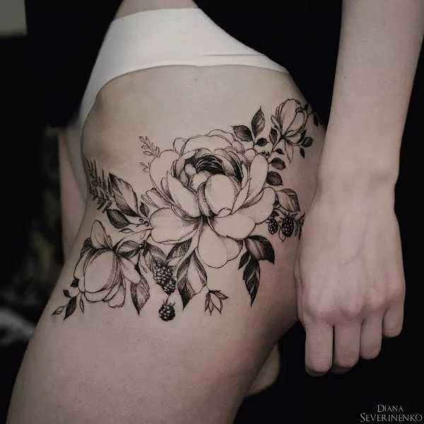 Diana-Severinenko-Tattoo-Flower-Blumen-007