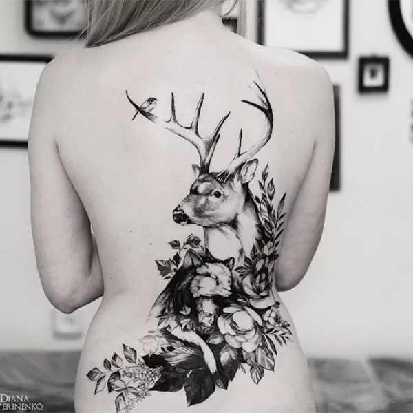 blumen tattoos mit diana severinenko tattoo spirit. Black Bedroom Furniture Sets. Home Design Ideas