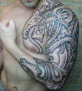 Celtic, Tattoo, Keltisch, Tätowierung