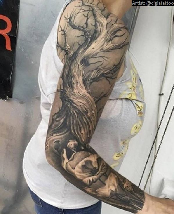 40 Grandiose Arm Sleeve Tattoos Tattoo Spirit