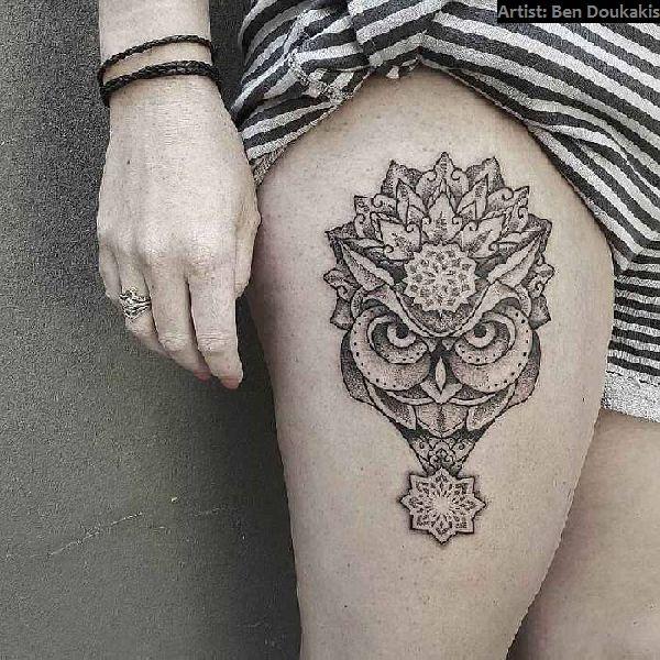 40 Oberschenkel Tattoos Für Frauen Tattoo Spirit