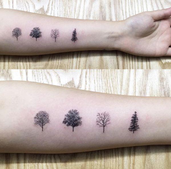 30 mystische baum tattoos tattoo spirit page 2. Black Bedroom Furniture Sets. Home Design Ideas
