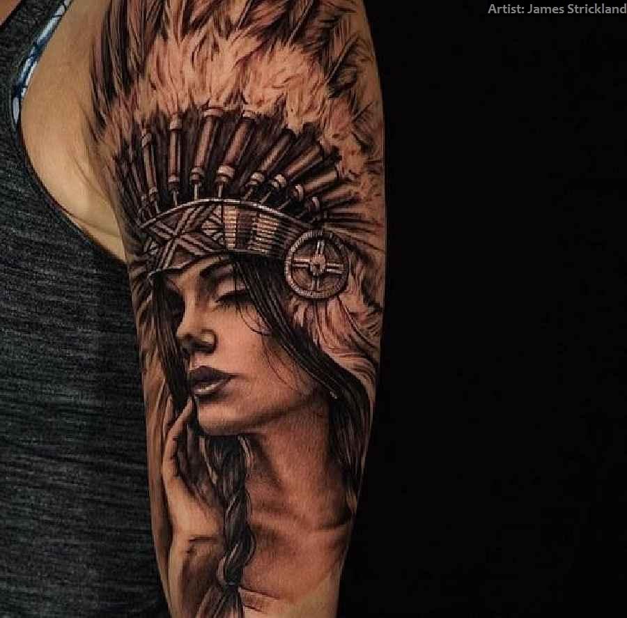 Die Bedeutungen Der Indianer Motive Tattoo Spirit