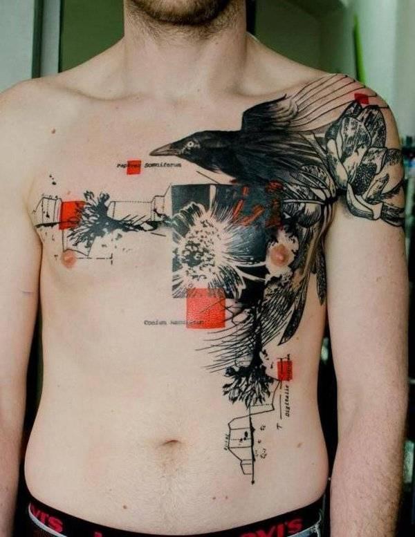 Raven-Tattoos-Raben-Idea-007