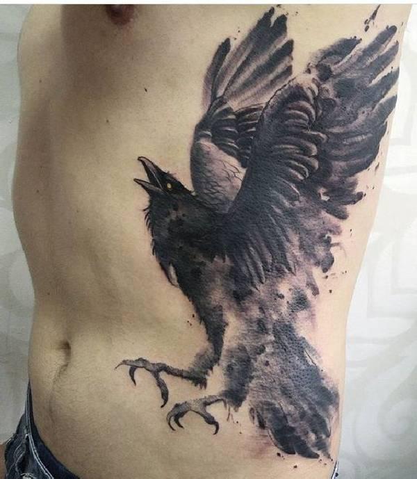 Raven-Tattoos-Raben-Idea-008